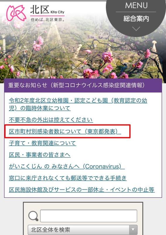 市 区 別 都 町村 コロナ 東京 東京都区市町村別新型コロナ感染者数ランキング