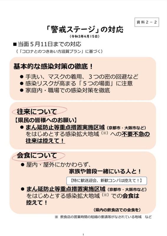 滋賀 県 コロナ ウイルス 最新