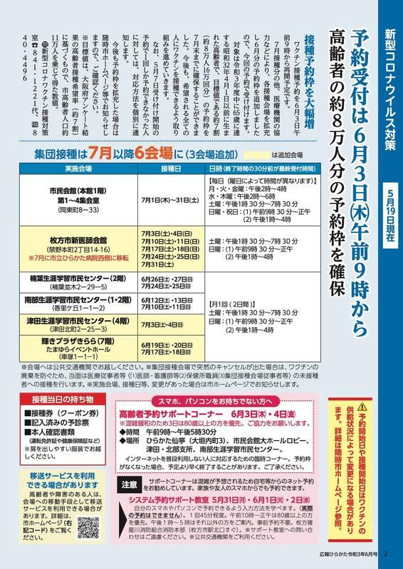 者 数 市 の コロナ 感染 枚方 #大阪府施設クラスター 5月18日、吹田市・豊中市・守口市・枚方市で各1カ所、計4カ所で新たな施設内感染発生。死亡者数33人